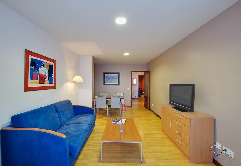 Vista Salon Principal Apartamento Grande Blue San Esteban Centro Gijon