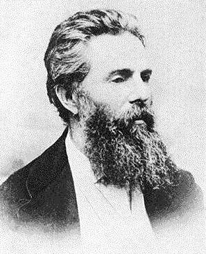Herman Melville, 1868.