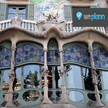 Entrada a la Casa Batlló