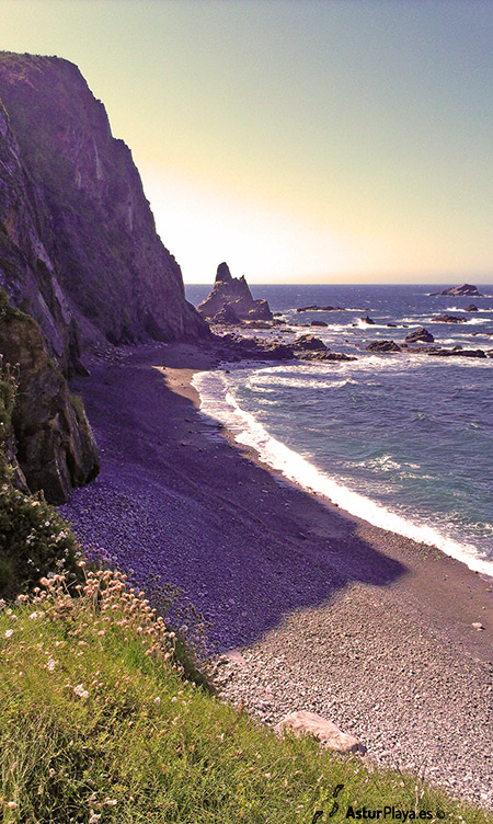 Campiecho Beach Western Side Asturias