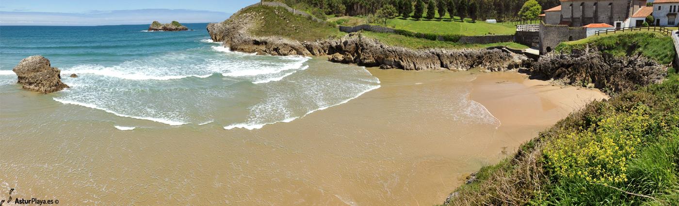 Los Curas Las Camaras Beach Llanes Asturias Mainpic