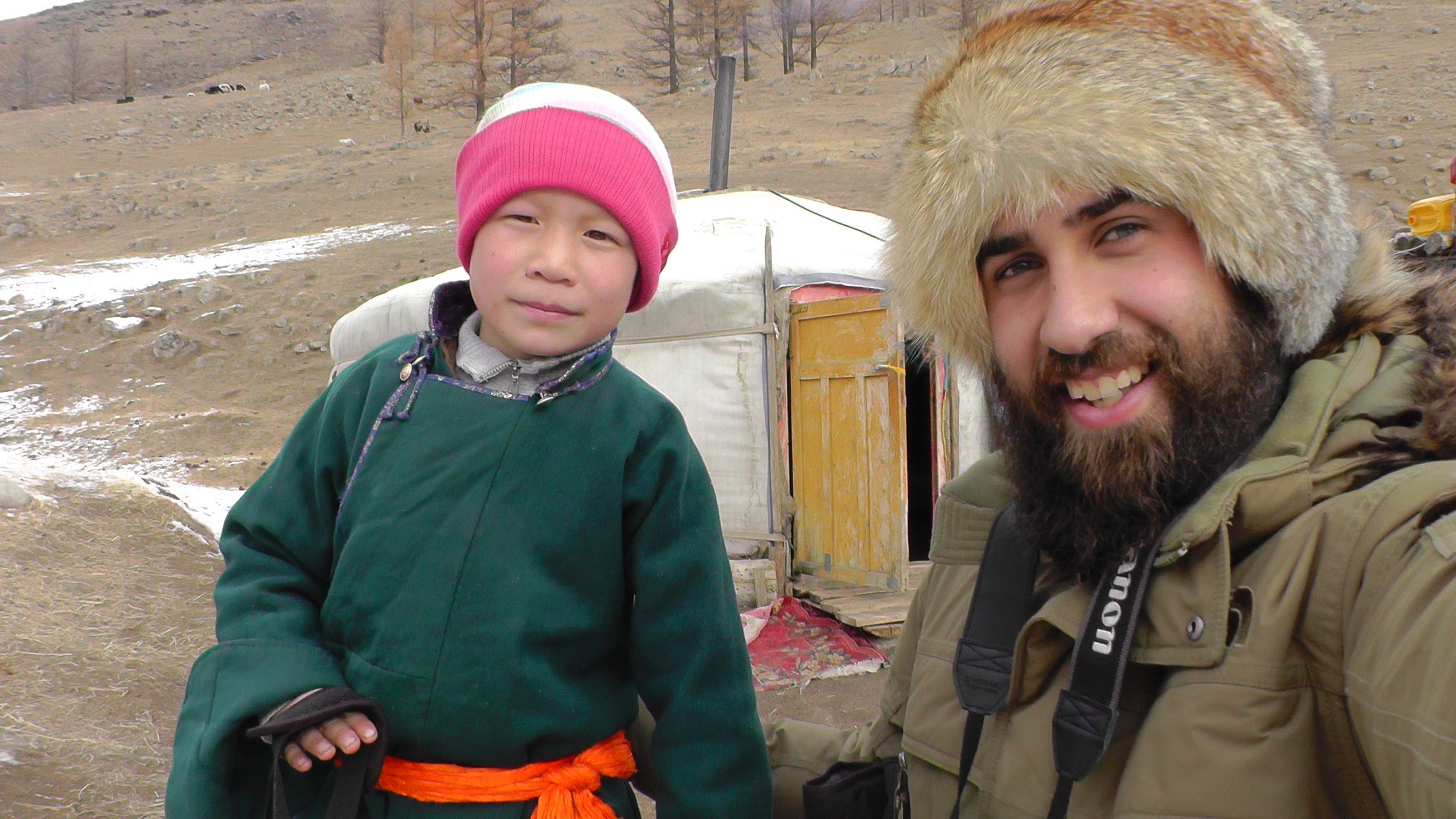 Nómadas en Mongolia