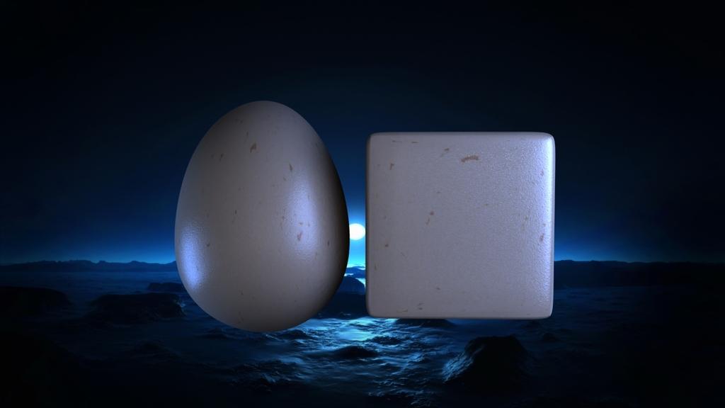 Egg Cube Jpeg