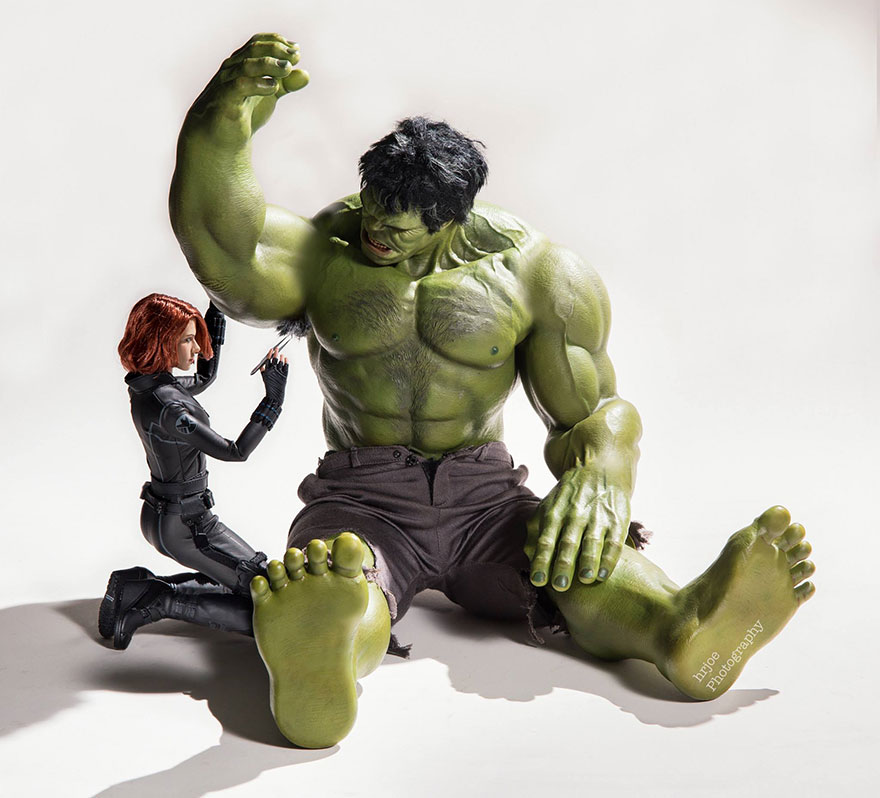 Superhero Action Figure Toys Photography Hrjoe 6