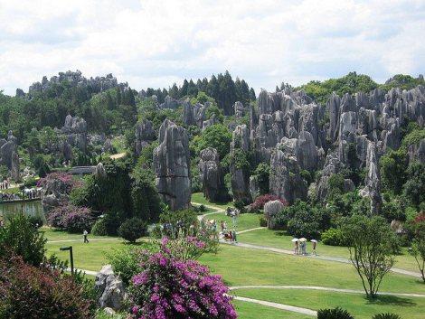 El Bosque De Piedra De Shilin 3