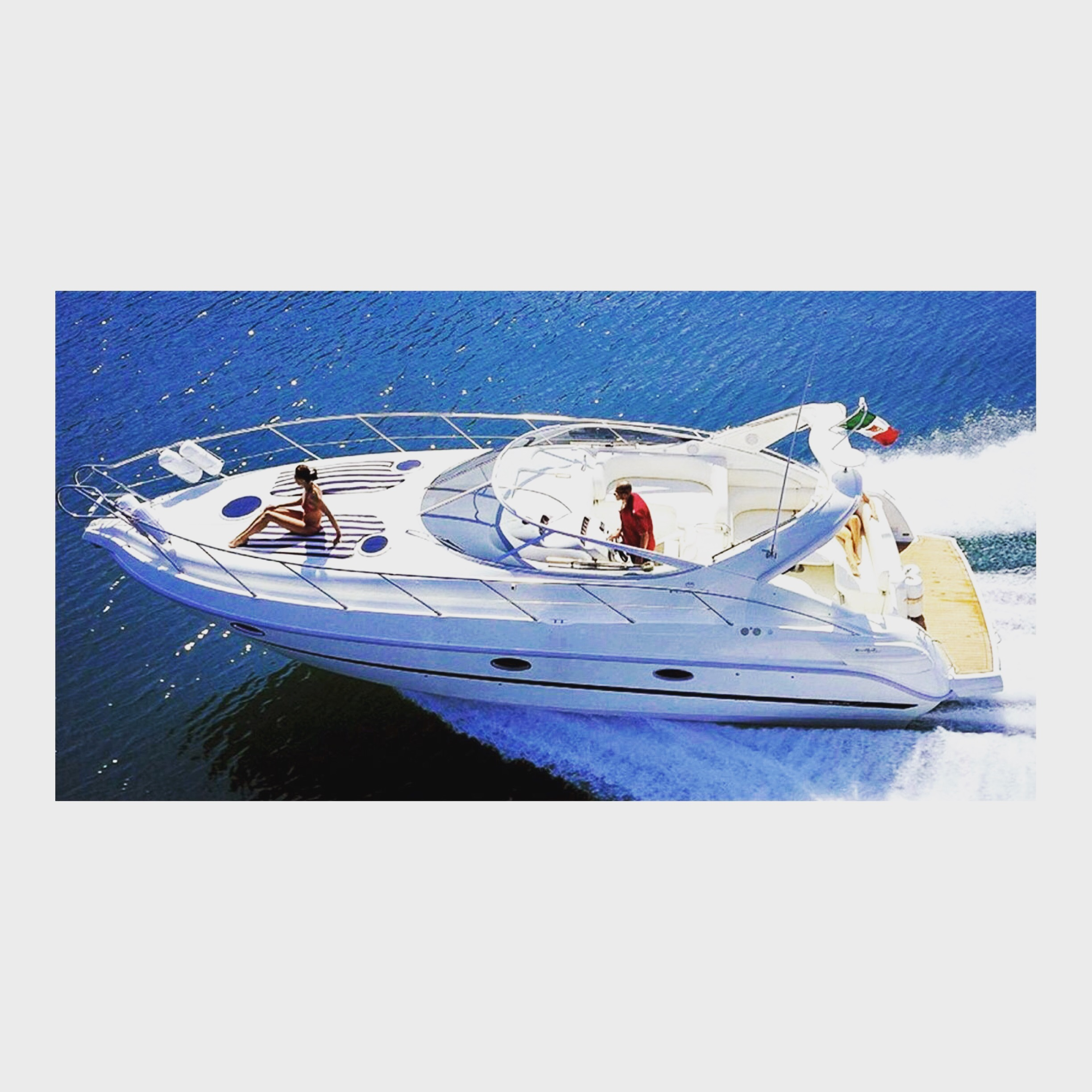 Yanpy Post 49 Yacht Cranchi Zaffiro 34 Malaga