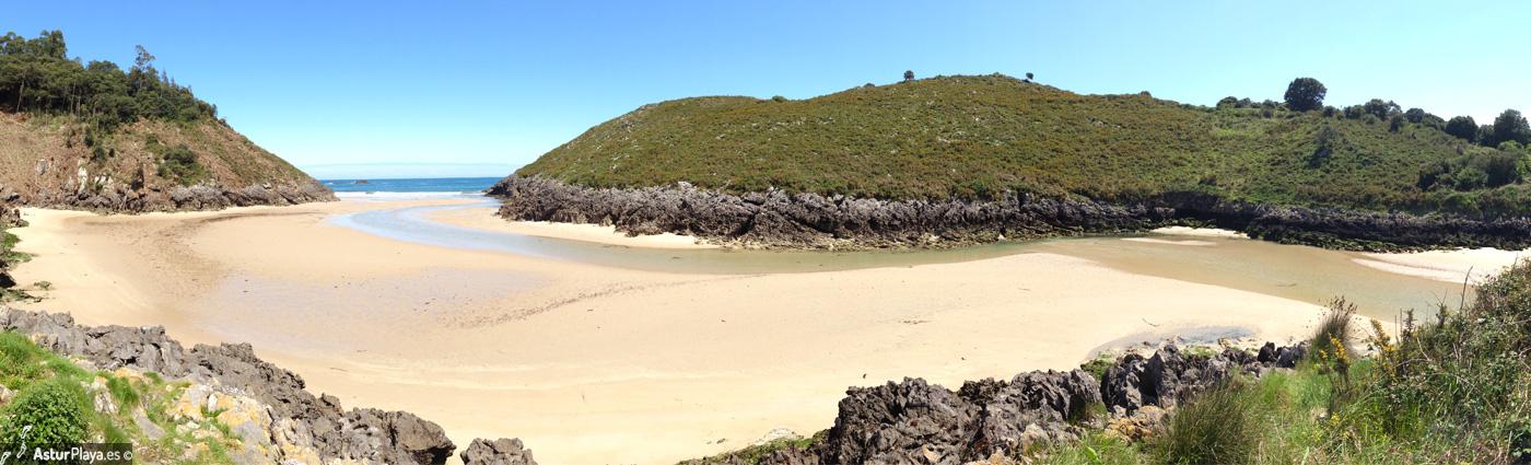 La Entrada Beach Llanes Asturias Mainpic