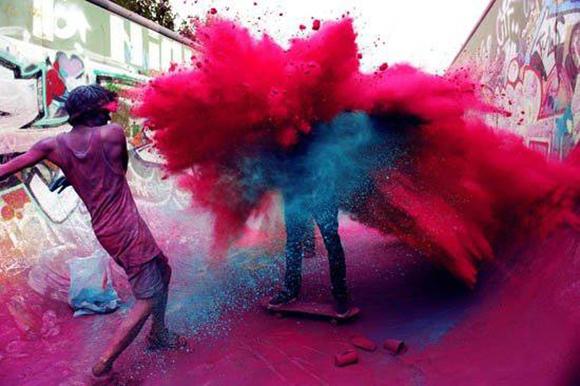 Festival Colores India Holi 2