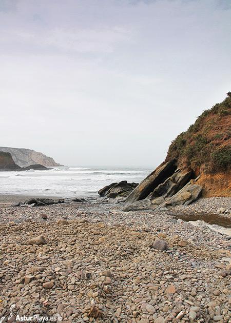 Bahinas Beach Castrillon Asturias Spain