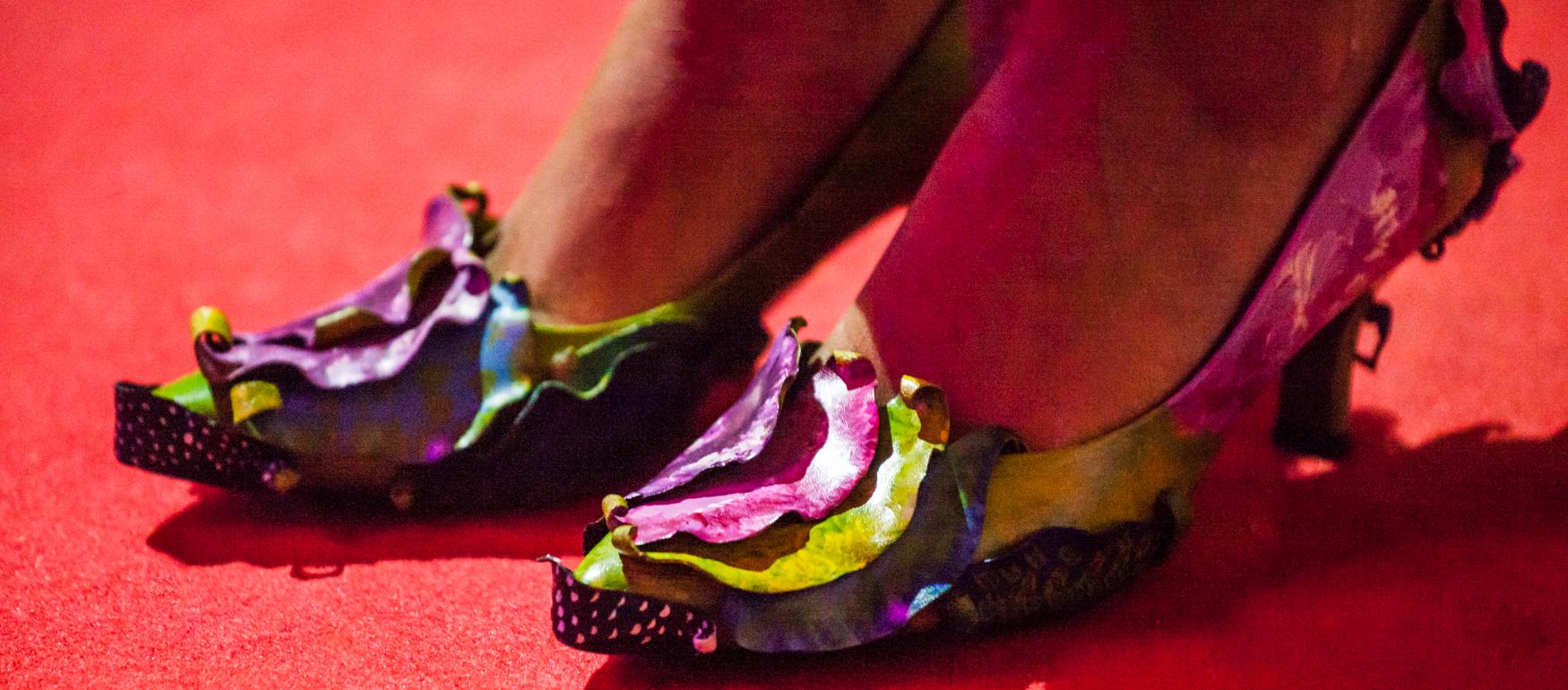 Zapatos Pintados Desfile Rota