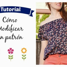 How to modify a sewing pattern