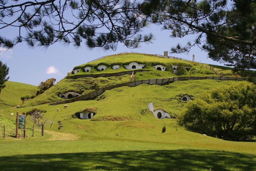 Hobbiton Mapa Tierra Media Nuevazelanda2010