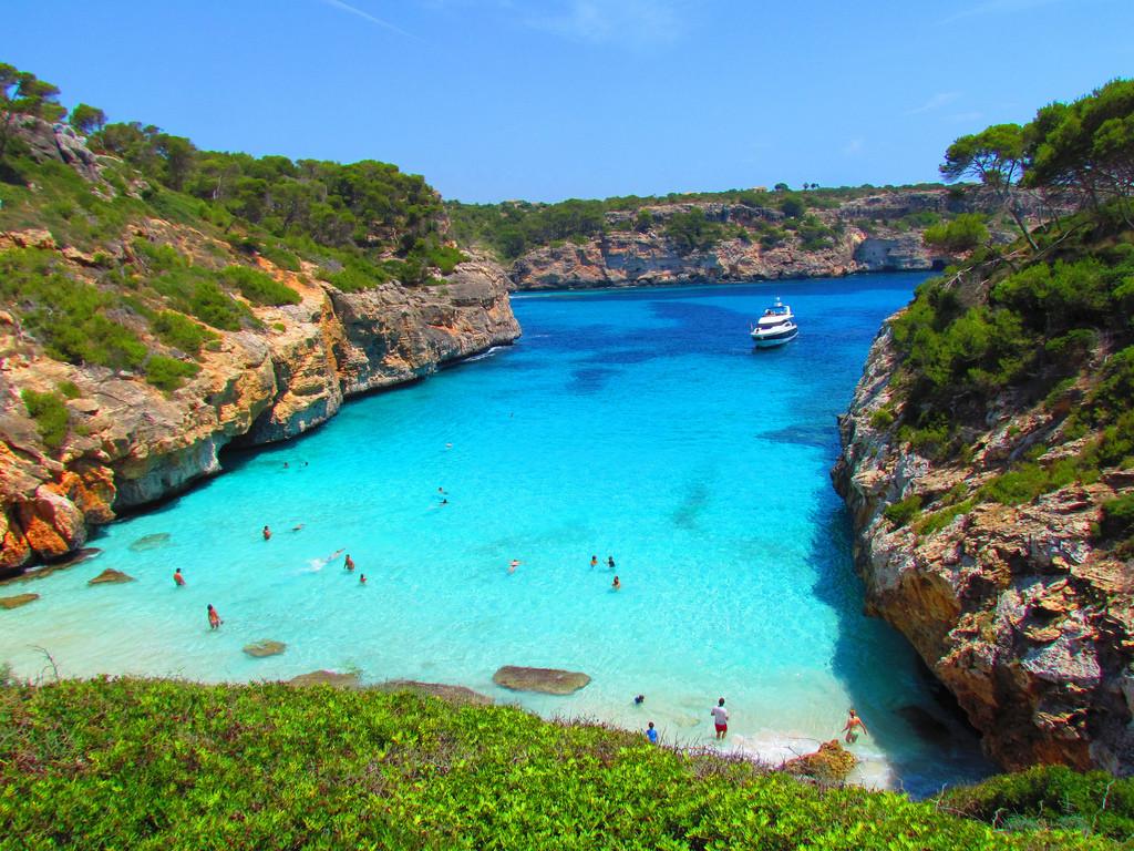 Yanpy Post 166 Sailing Majorca Calo Moro Spain