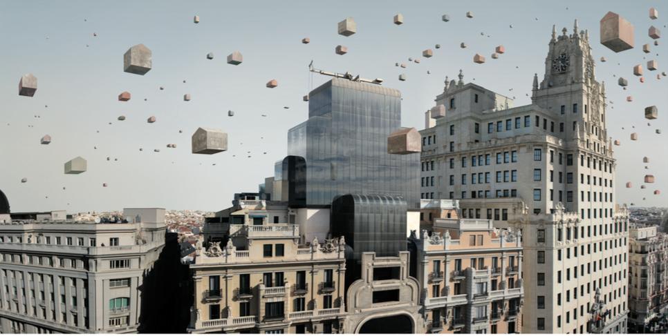 Madrid. Fotografía sobre papel de algodón (50x90cm)