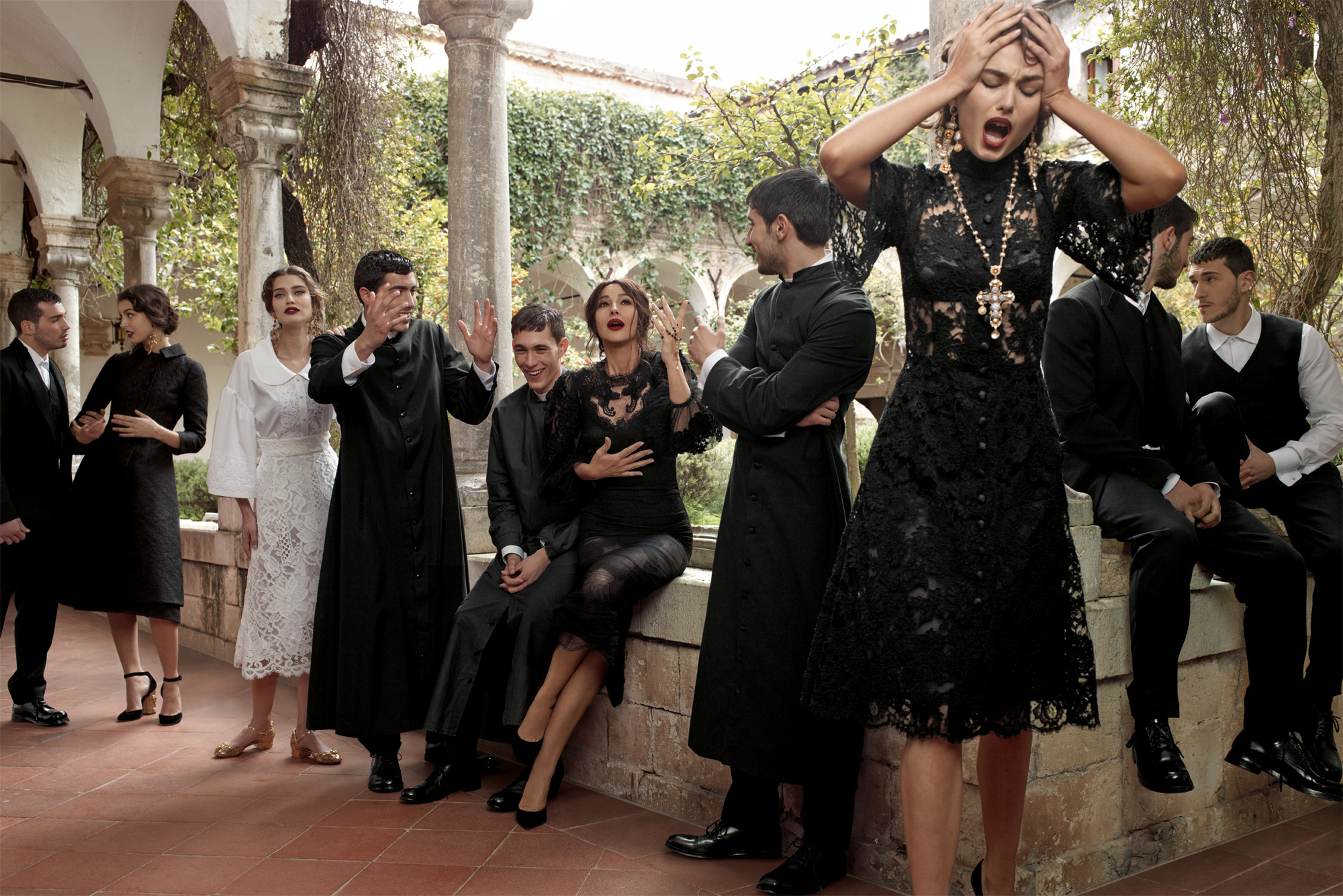 Dolce And Gabbana Fw 2014 Women Adv Campaign 04