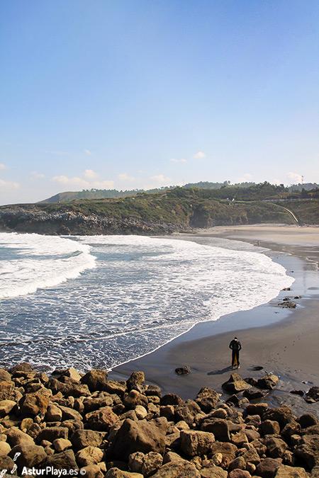 Arnao Beach Castrillon Asturias