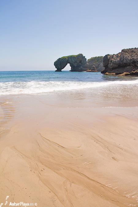 Playa de la Huelga y Castro de las Gaviotas