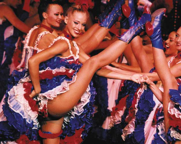 Paris Tickets To Moulin Rouge Can Can Dancing