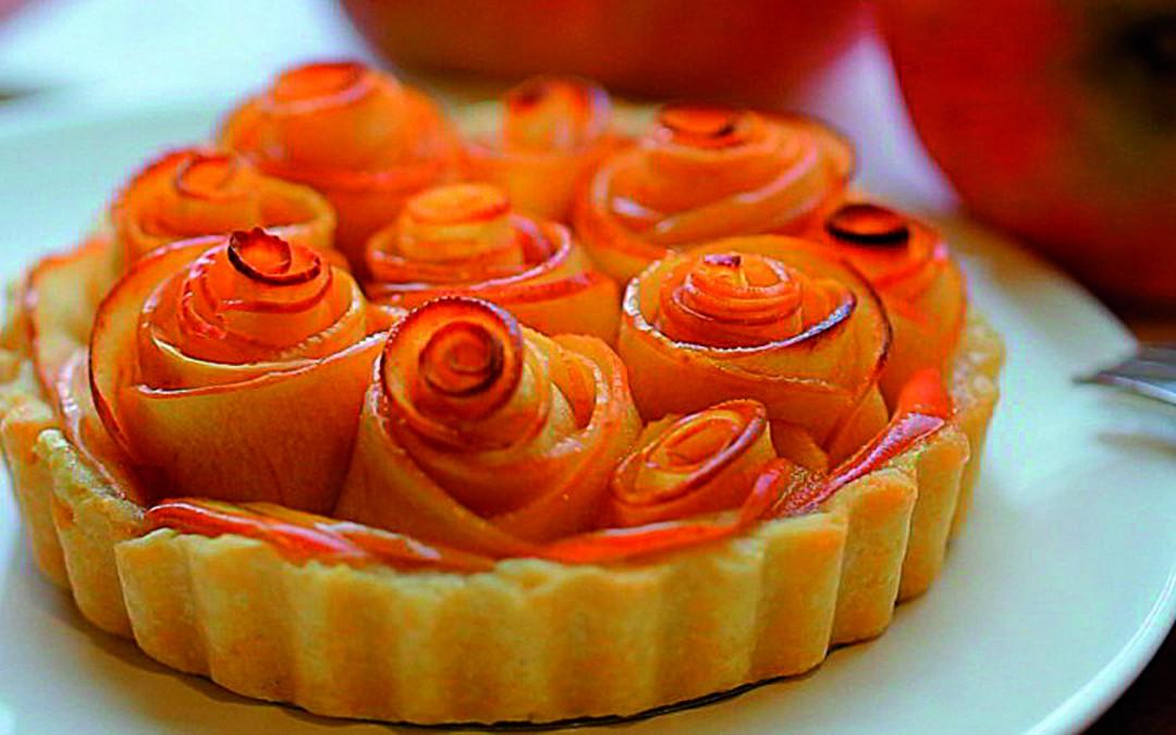 Como Hacer Tarta De Manzana Con Hojaldre 1080x675