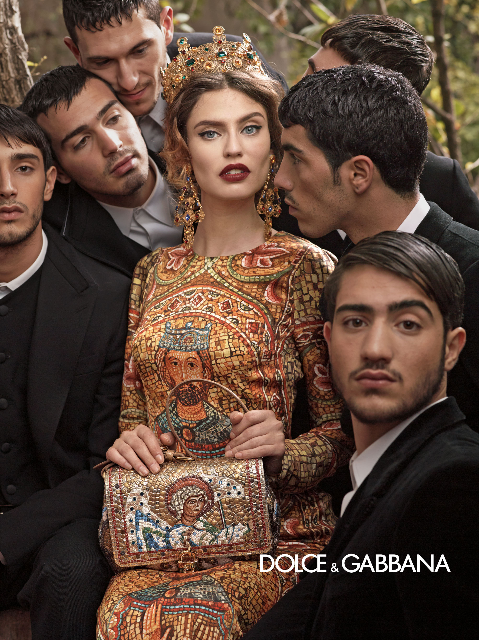 Dolce And Gabbana Fw 2014 Women Adv Campaign 9