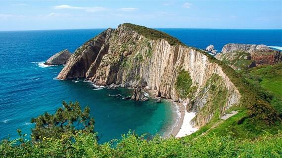 Asturias Playa Del Silencio