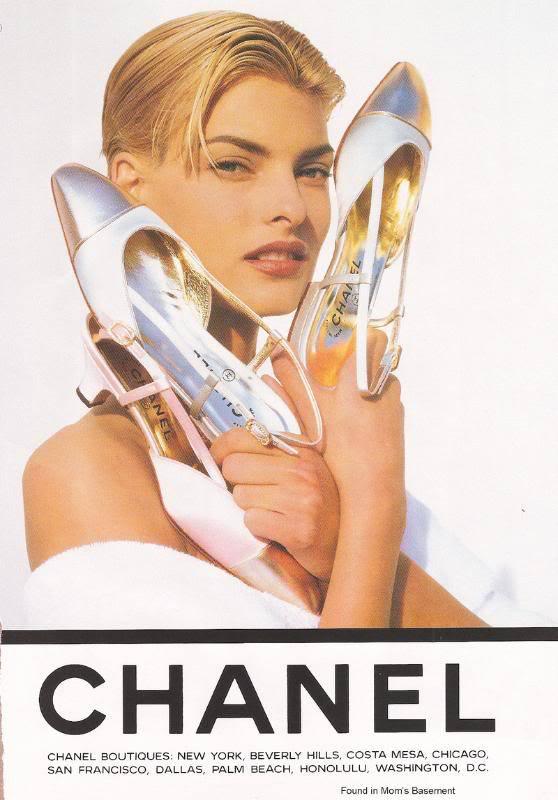 1990fashionadvertising 1990s Chanel1