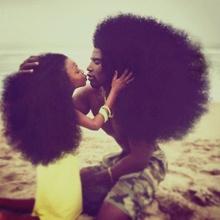 Harlem père et fille