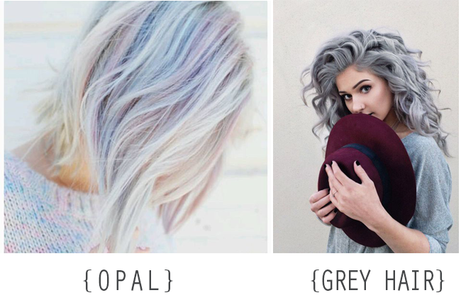 Opal Grey Pelo Tendencia Color