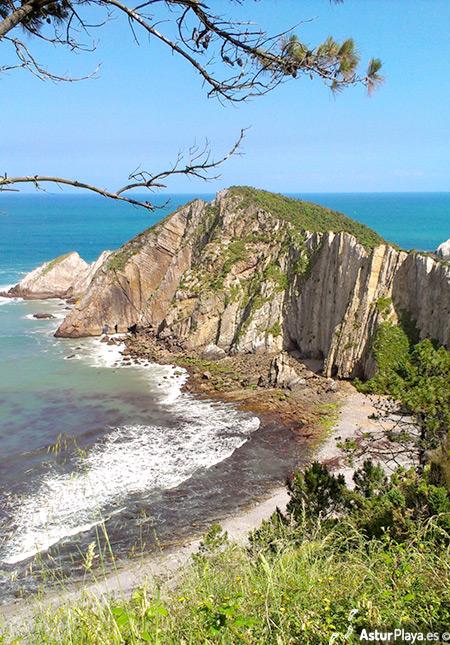 Del Silencio Beach Cudillero Asturias