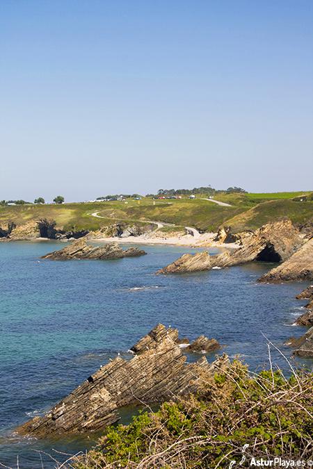 Arnao Beach Castropol Asturias