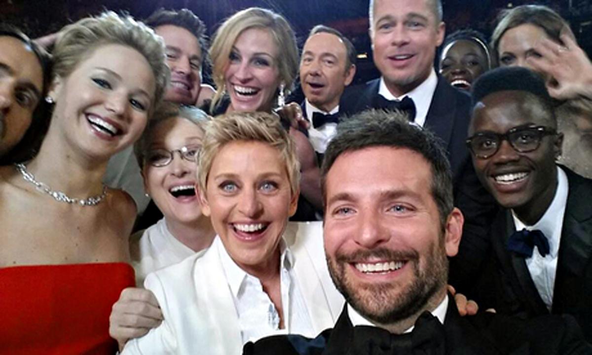 El Selfie más viral de la historia