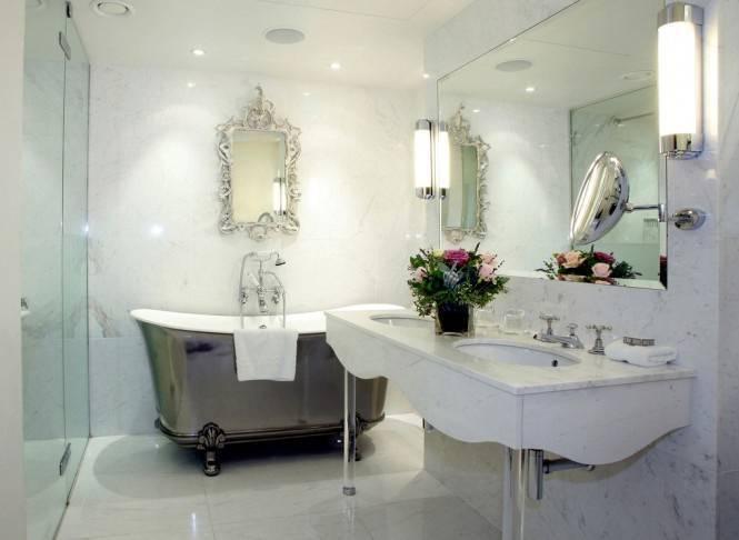 Chinese Style Bathroom Silver Bath 08
