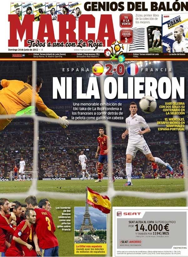 Espana Francia Euro 2012 Jpg