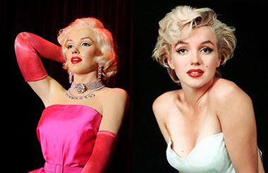 El Museo De Cera De Madrid Dedica Una Sala A Marilyn Monroe