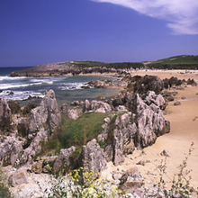 Toro Beach in Llanes - Asturias