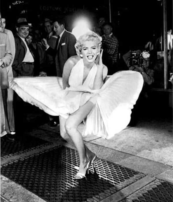 9. Marilyn Monroe (1955)