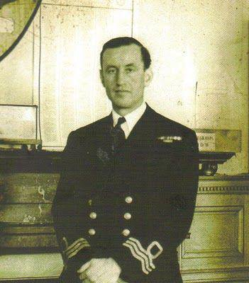 Commander Ian Fleming.
