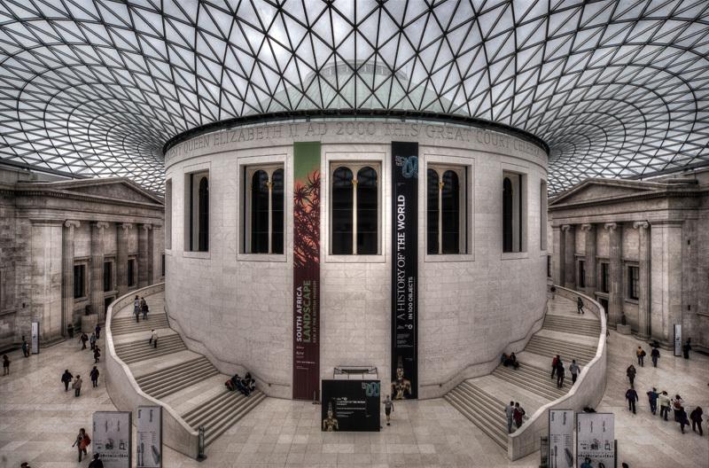 Sala De Lectura Del Museo Britanico De Londres British Museum Trabalibros