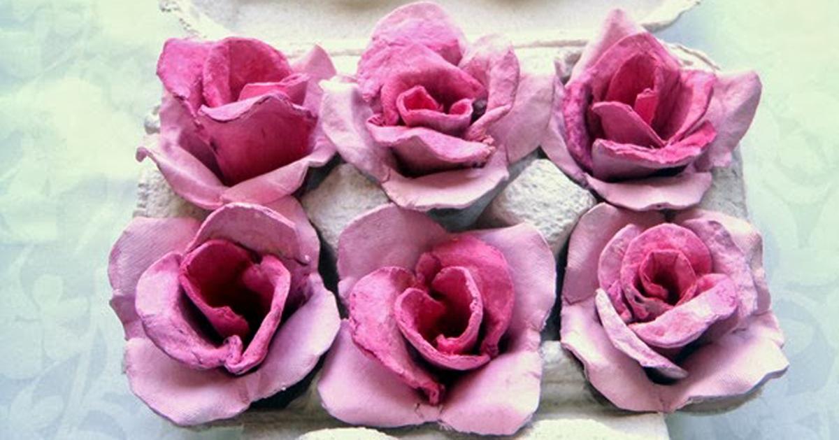 Tutorial Rose Di Cartone Uova Thumb 2