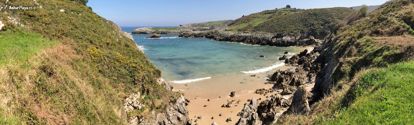 Portiellu Beach Llanes Asturias Mainpic