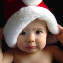 Babys at Christmas