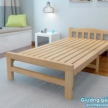 Bán giường gỗ gấp đôi giá rẻ Hà Nội