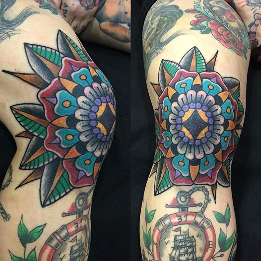 tatuajes rodilla