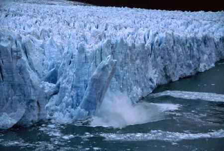 Glaciar Amundsen. 10 km de ancho y unos 128 km de largo