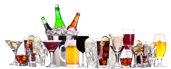 Selection Of Alcohol 595x240