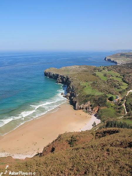 Andrin Beach From Boriza Llanes