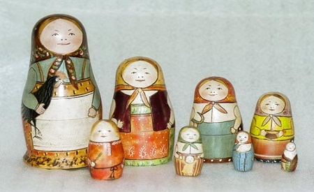 First Matryoshka Museum Doll Open1 Jpg