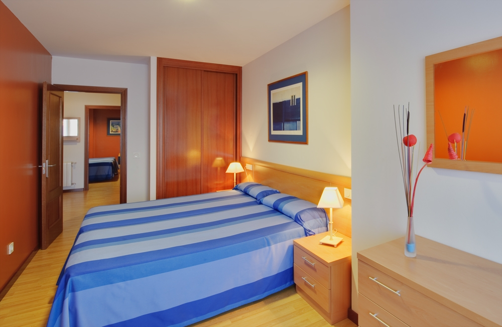Dormitorio Principal Apartamento Grande Blue San Esteban Gijon