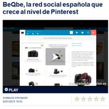 beQbe noticia en andaluciainformacion.es