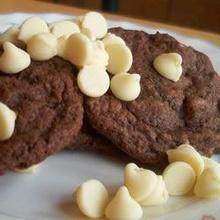 Cookies con chips de chocolate blanco